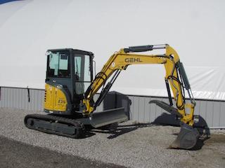 Gehl Z35 Excavator - Light Construction Equipment