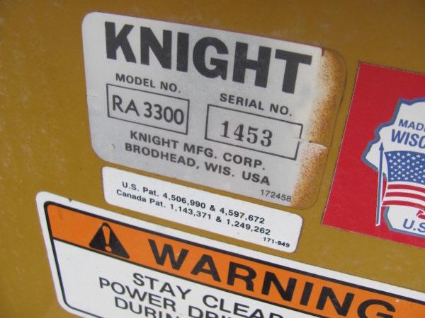Used Knight 3300