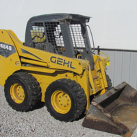 light construction equipment for sale in indiana