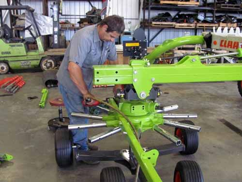 Tedder Repair Service