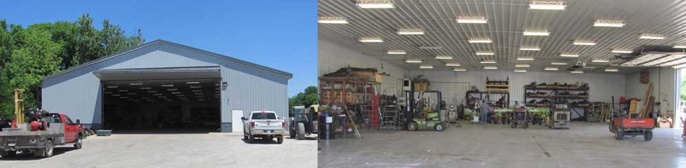 Farm Equipment Service Department