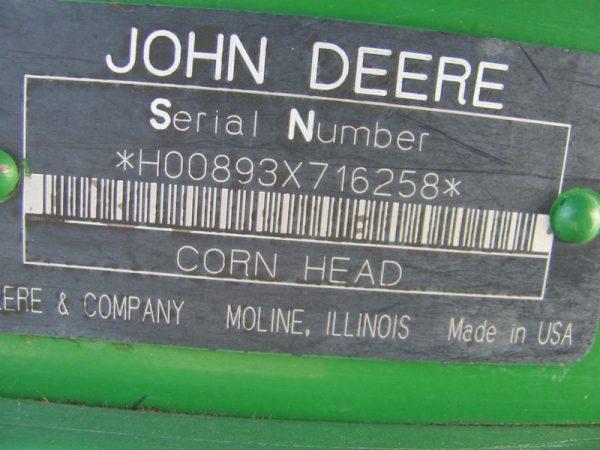 John Deere 893 9