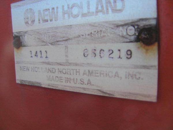 New Holland 1411 8