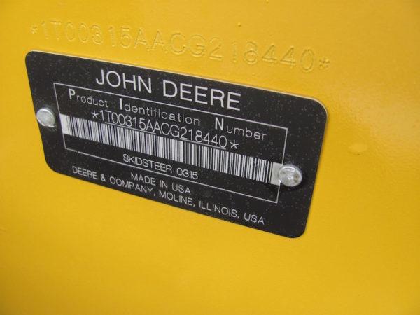 Deere 315 7
