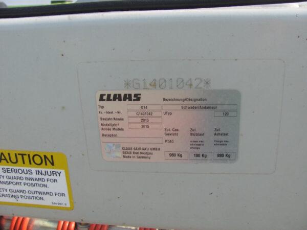 Claas Liner 550T 3